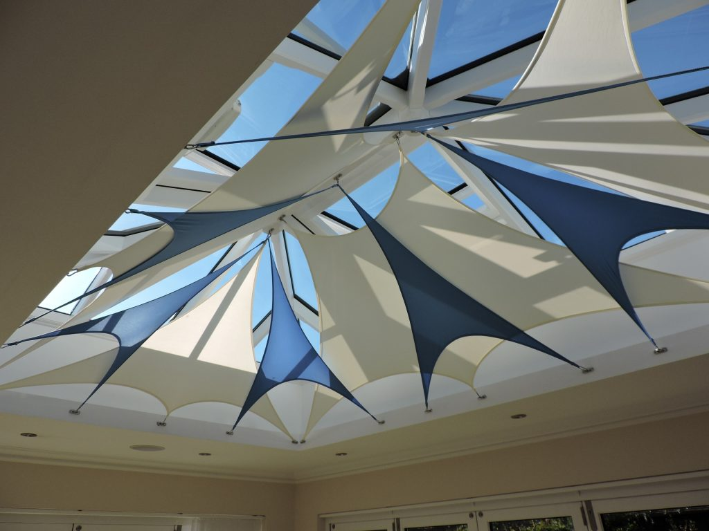 Shade Sails For Conservatories Ceiling Sail Blinds Indoor