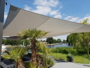 Luxury outdoor sails