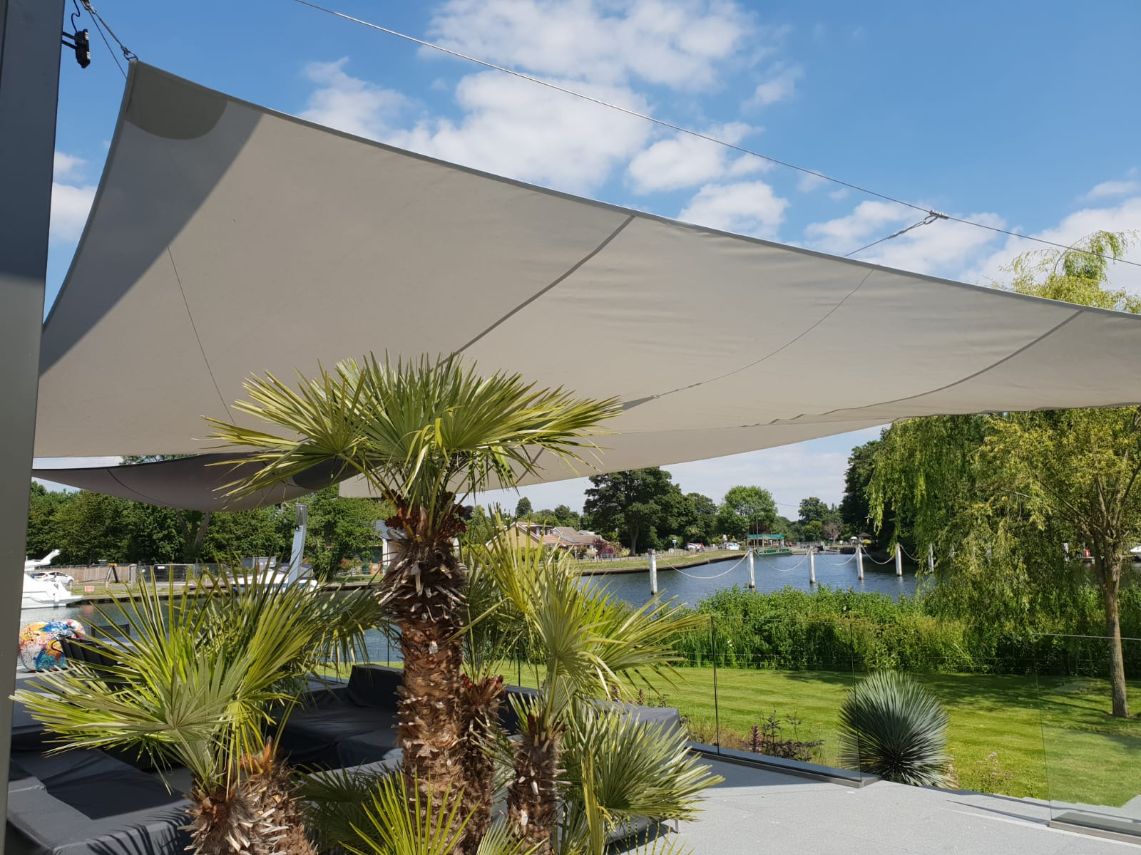 Luxury outdoor sails